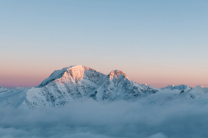 Mt. Elbrus is one of the seven summits