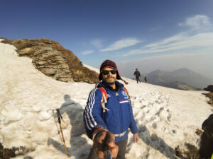 vikram jeet singh parmar is going to do seven summits of the world